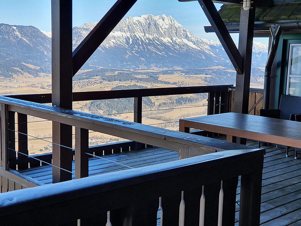 Balkon Bergjuwel